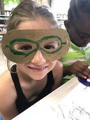 Making Masks for the Gala!