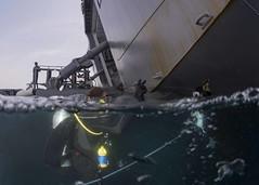 170721-N-ON977-0005 (U.S. Pacific Fleet) Tags: eod eodmu5 jmsdf jdsbungo diving limpet scuba japan mcm ctf75 fccp mc2alfredcoffield aichi jp