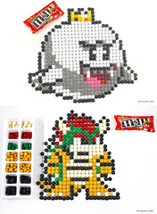 M&M Mosaic Mario Nintendo Collection - Boo and Bowser (Kitslams Art) Tags: nintendo mm mosaics pixel art 8bit mario bros nes snes video game artist candy 8 bit arts yoshi toad megaman samus aran metroid boo shyguy bowers mushroom mosaicart mosaicartist mmmosaic rubikscubemosaic artwithitems artwithcandy artwithmms artwithrubikscubes rubikscubeart rubiksart mosaicdrawing drawingmosaic kitslamsart kitslam videogameart videogameartist videogamepixelart pixelart 8bitart 8bitartist nintendoart nintendoartist nintendopixel snesart nesart marioart marioartwork mariobrosart