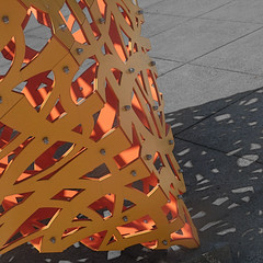 omca sculpture and shadow (msdonnalee) Tags: sculpturedetail shadow ombra ombre schatten sombra omca sculpture diagonal