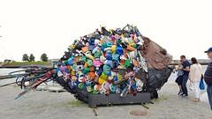 Stuff people throw into the ocean (blondinrikard) Tags: elsinore helsingör helsingør denmark danmark dinamarca