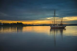 Evening at Kugghamn
