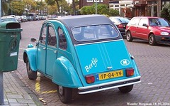 Citroën 2CV 1988 (XBXG) Tags: tp84yv citroën 2cv 1988 citroën2cv 2pk deuche deudeuche eend geit 2cv6 bleu blue meester cornelisstraat kleverpark haarlem nederland holland netherlands paysbas vintage old classic french car auto automobile voiture ancienne française vehicle outdoor bertje