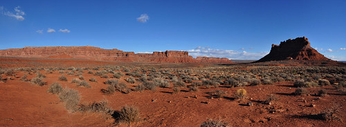 San Juan - Red Desert Landscape