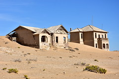 Sands of time. (pstone646) Tags: namibia kolmaskop ghosttown derelict decay africa desert deserted sand buildings architecture