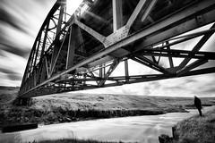 Decayed bridge (Raven-Photography.nl) Tags: bridge decay industrial old anonymous girlfriend jip van bodegom