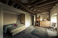 We could probably fix it (Dennis van Dijk) Tags: chateau fachos abandoned forgotten decay derelict urbex lost found dust old moody sleep sleeping room bed urban exploration beauty