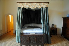 Four poster luxury (zawtowers) Tags: cornwall kernow summer holiday break vacation july 2017 trerice national trust property historic house friday 21st raining wet cloudy four poster bed bedroom luxury romantic