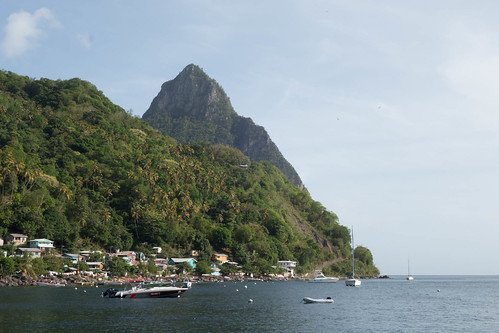 Off Soufriere, St Lucia