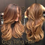 Trendy Hair Highlights : Chocolate - Caramel Ombre by Guy Tang. I'm obsessed with his ombre technique... thumbnail
