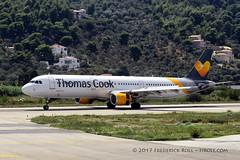 Thomas Cook A321 ~ G-TCDX (© Freddie) Tags: skiathos thessaly sporades aegean greece jsi lgsk ©freddie fjroll thomascook airbus a321 gtcdx