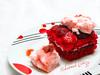 Home made strawberry shortcake (Muhammad Barazy) Tags: cack strawberryshortcake strawberry red cream dessert homemade