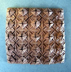 Ornate Square Tessellation - Meenakshi Mukerji (Rui.Roda) Tags: origami papiroflexia papierfalten ornate square tessellation meenakshi mukerji