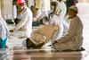 Friday Prayer (felixkolbitz) Tags: contrast friday prayer mosque men religion india delhi old olddelhi jamaa masjid jamaamasjid devotion islam muslim