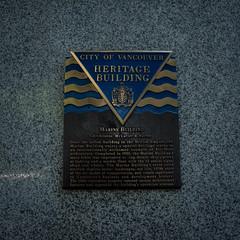 The Marine Building (Lynsay87) Tags: vancouver canada travel marinebuilding artdeco skyscraper