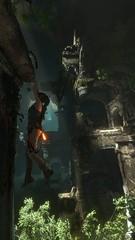 Hanging on (MatieTR) Tags: tomb raider lara croft rise screenshot game