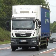CCT express WM15 GBZ (joshhowells27) Tags: lorry truck man curtainsider birmingham cctexpress