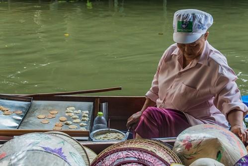 marche fottant damnoen saduak - thailande 4