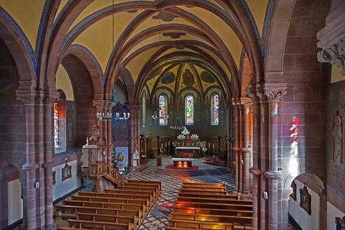 L'église Saint-Martin (Niederbronn-les-Bains)