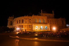 Odessa Opera Theatre at Night (tarmo888) Tags: sel16f28 sonyalpha sonyα nex7 geotaggedphoto geosetter sooc photoimage фотоfoto year2017 nightshot vacationtravel puhkus ukraine україна ukrayina украи́на украина odessa odesa оде́са оде́сса autohdr odessaopera oblastodessa