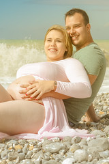 (sebastienloppin) Tags: lifestyle shooting photoshoot 24105f4l canoneos60d eos canon plage mer sea beach portrait couple love pregnant