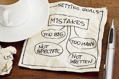 mistakes in setting goals on napkin (ACruisingCouple) Tags: black coffee concept cup doodle drawing espresso failure fault goal goalsetting grunge mistake napkin paper problem settinggoals sketch specific success white wood written