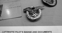 IMG_0636 (Mat_B) Tags: experimental aircraft association eaa oshkosh wisconsin summer 2017 museum visit photography nazi artifact lapel pin swastika