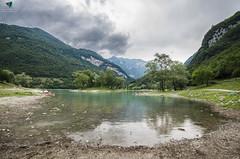 Lago di Tenno - Trentino (Elisa.95) Tags: lake tenno water trees landscape trentino nikon tokina italy sky clouds storm reflections capture nature