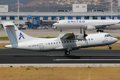 SX-DIR | ATR42-300 | Astra Airlines (cv880m) Tags: aviation airplane aircraft athens lgav ath eleftherios venizelos ramptour airborn europe greece sxdir atr atr42 atr42300 astra astraairlines turboprop takeoff airliner airline