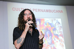 Silvério Pessoa palestra no Espaço Janete Costa (Fenearte 2017) Tags: recife pernambuco brasil silvério pessoa palestra espaço janete costa fenearte