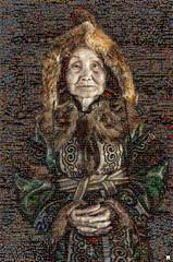 NOMADA Mosaico (by zurera) Tags: digital hd art collage retratos portraid zurera people fotomontaje image autoretratos mosaic