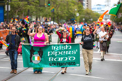 SF Pride 2015 (Thomas Hawk) Tags: america bayarea california irishpipersband lgbt lgbtq marketst marketstreet pride pride2015 prideparade2015 prideweekend sf sfpride sfpride2015 sanfrancisco usa unitedstates unitedstatesofamerica bagpipes parade fav10
