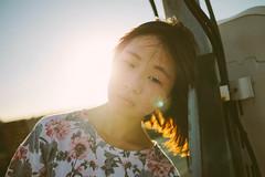 (Kevin .H) Tags: 台灣 台北 攝影 外拍 人像 女孩 taiwan taipei girl photography canon 5d2 5dii 35mm film 光影 flashlight street 夕陽 sunset