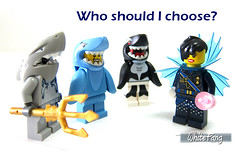 Who should I choose? (WhiteFang (Eurobricks)) Tags: lego collectable minifigures series city town space castle medieval ancient god myth minifig distribution ninja history cmfs sports hobby medical animal pet occupation costume pirates maiden batman licensed dance disco service food hospital child children knights battle farm hero paris sparta historic ninjago movie sensei japan japanese cartoon 20 blockbuster cinema