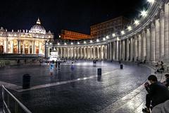 Place St-Pierre, Vatican (CloudPhotoz) Tags: pierre vatican san pietro rome roma city ville église church basilique place piazza sainturban urbain catholique