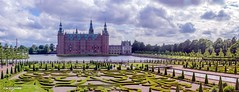 Frederiksborg Castle,Royal residence, Denmark  03, (zwzzjim) Tags: adventure architecture plant tree outdoor arhitecture landscape serene long exposure blue waterfront water dawn castle frederiskborg demark europe