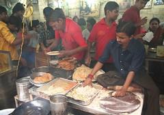 Paratha Wally Gully, Old Delhi (brightasafig) Tags: india olddelhi delhi parathawallygully paratha curry food bitter