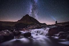 The Mountaina and I (chrismarr82) Tags: selfie scotland nikon glencoe buachaille astro night stars d750 tamron