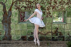 Storybook Ballet on pointe Dancer (Natural World Gallery) Tags: ballet onpointe youngteendancer storybook fantasyportrait