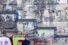 Hidden (CoolMcFlash) Tags: stairs graffiti vienna street wall hidden abstract struktur structure canon eos 60d art stufen stiegen wien strase wand versteckt abstrakt minimalistic minimalism minimalistisch fotografie kunst photography geometry geometrie tamron b008 18270