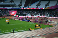 T42 High Jump - Sam Grewe at 1.77m (h_savill) Tags: london 2017 world para athletics championship stratford july stadium competition compete athelete atheletics disability spectator aport track field seat crowd olympic park t42 mens highjump samgrewe leg amputee