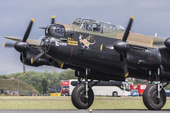 BBMF Lancaster Leader (Perfect Moment Images) Tags: leader pa474 lancaster bbmf riat 2017 17 fairford ffd egva raf airport airbase ab usaf 70th anniversary