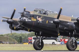 BBMF Lancaster Leader