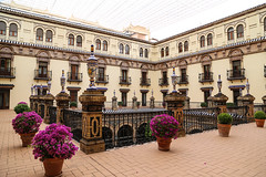 2017 SPM0202 Our hotel, Alfonso XIII hotel in Sevilla, Spain (teckman) Tags: 2017 europe hotel sevilla seville spain andalucía es