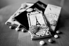 Paralleled (brev99) Tags: chocolate chocolatebars nonpareils mms shallowdof bokeh blur tamron35f18vc d610