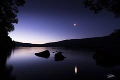 _83A0035-2 (fabienwohlschlag) Tags: landscape night lake lac canon wild wohlschlag wildlife bushcraft nightshot nature nuit paysage moon lune dark