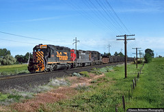 I Couldn't Believe My Eyes (jamesbelmont) Tags: train railroad locomotive railway drgw gp40 sp sd7e gp30 emd sandy utah ut04l agriculture saltlakevalley