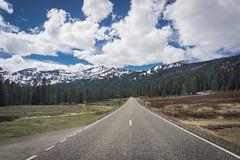 Road to Yellowstone (Mountain Sun Creations) Tags: national nationalpark park ye yellowstone yellowstonenationalpark road roadway mountains clouds cloudy mountain