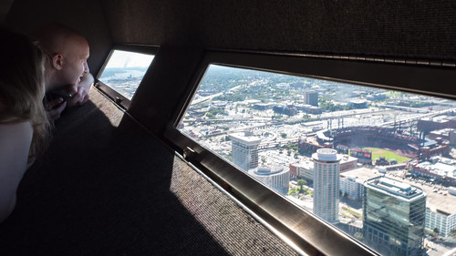 Looking out the Window - Gateway Arch