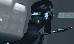 Midnight Patrol (riowyn.slife) Tags: insilico police cyberpunk roleplaying rp secondlife sl future scifi krova utilizator